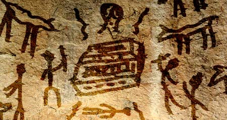 Ever notice cave paintings look EXACTLY like kid's artwork? Weird...