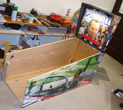 how to make wooden pinball flippers