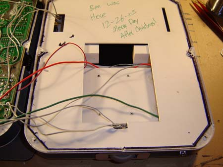 Every portable I build has secret messages inside - this is no different!