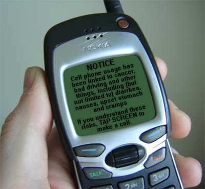 Phones with cameras feature additional warnings RE: voyeurism
