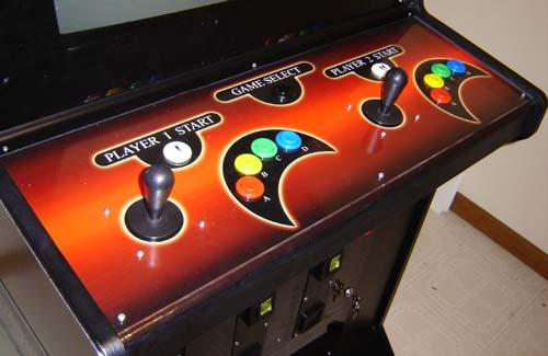 Ben S Neo Geo Arcade Cabinet Web Portal For Benjamin J