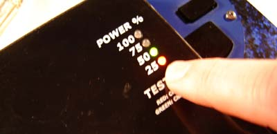 Wow. Only 25% power. Don't cast any Final Fantasy spells!