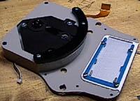 Rear half of PSp case