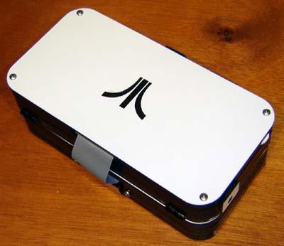 It's like a mini Atari laptop!