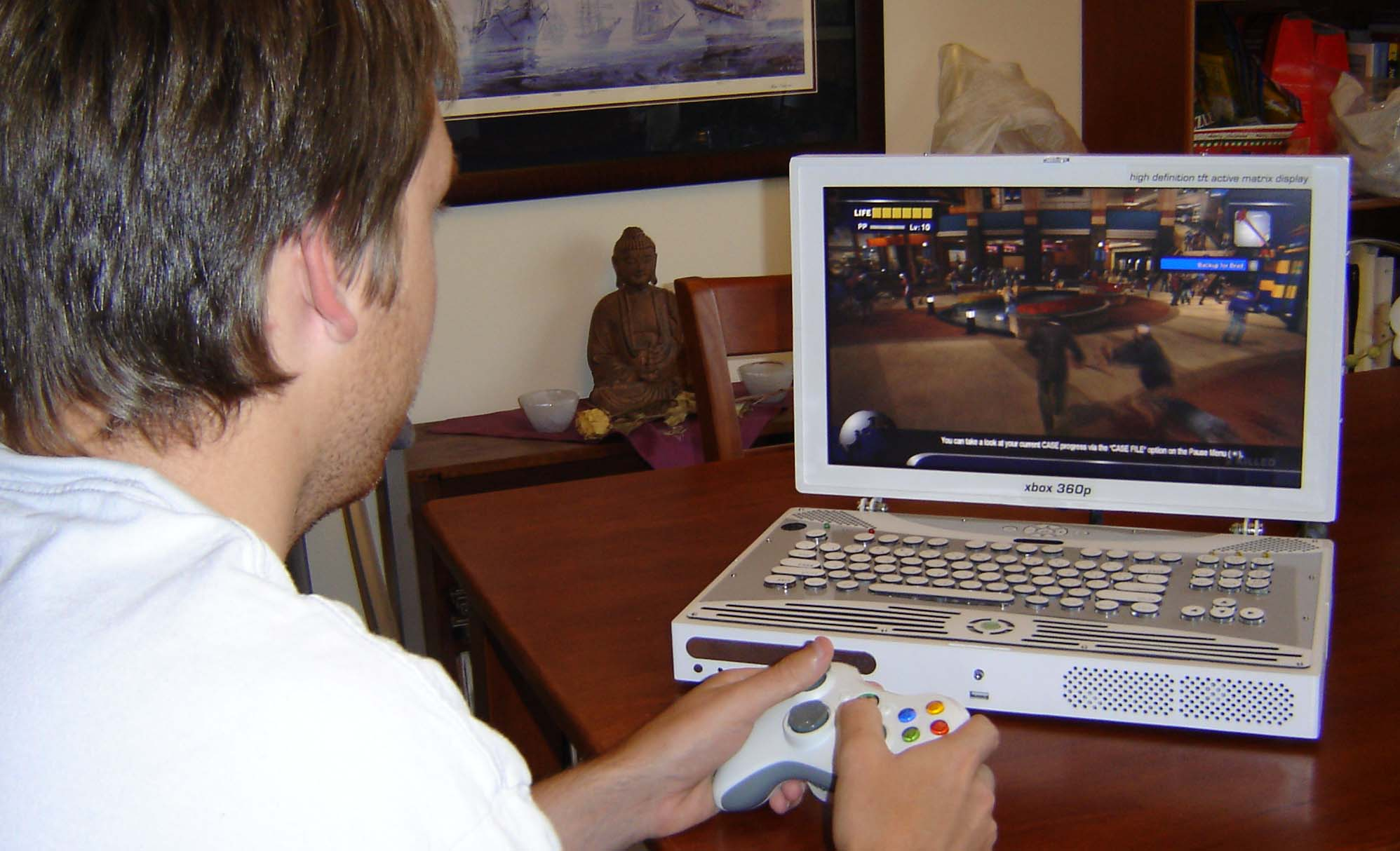 Xbox 360 Laptop Original Web Portal For Benjamin J Heckendorn