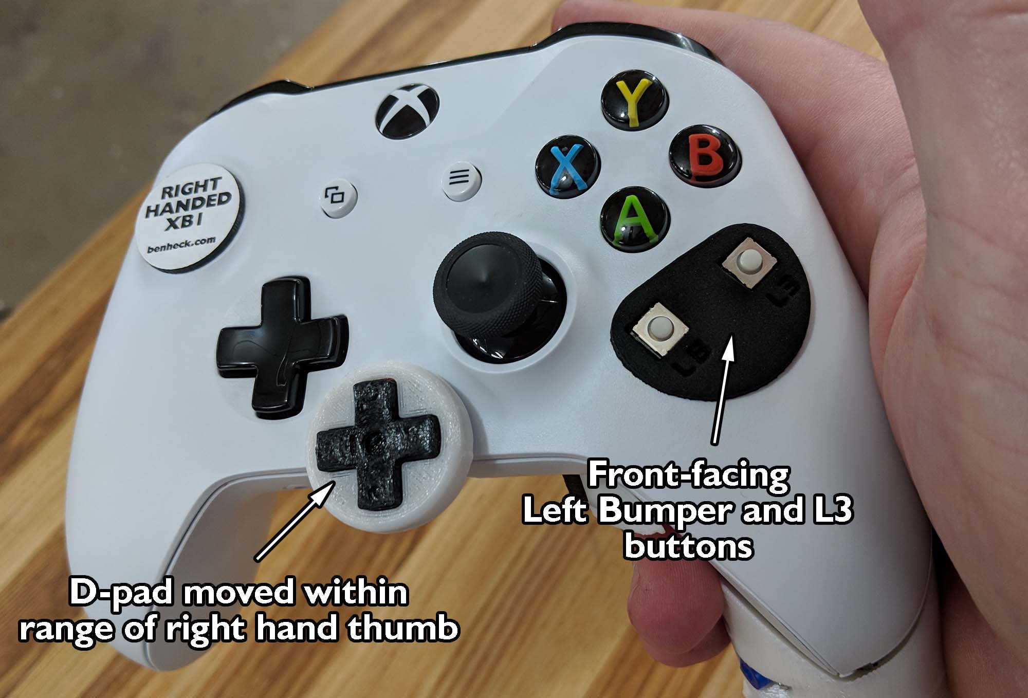 New Single Handed Xbox One Controllers On The Way! | Web Portal for ...